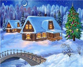 Поздравления на английском с Рождеством